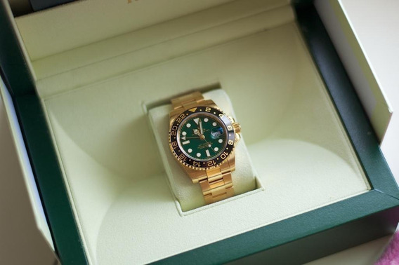 Rolex Gmt Master Ii 116718 18k Original