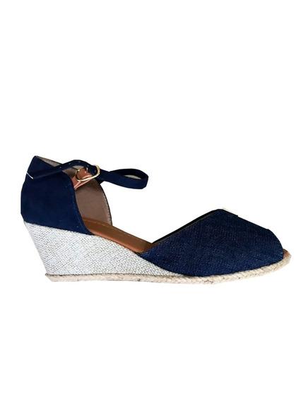 Sandália Feminina Azul