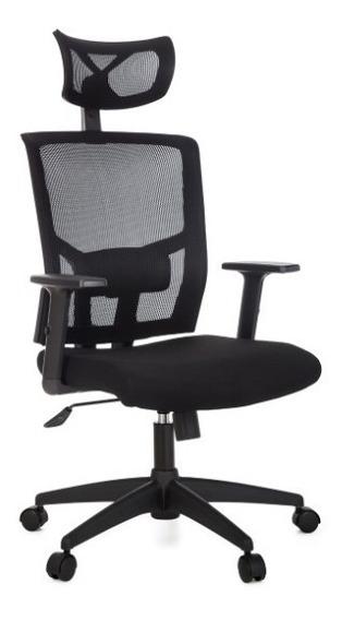 Cadeira Presidente Escritório Apoio De Cabeça Com Regulagem