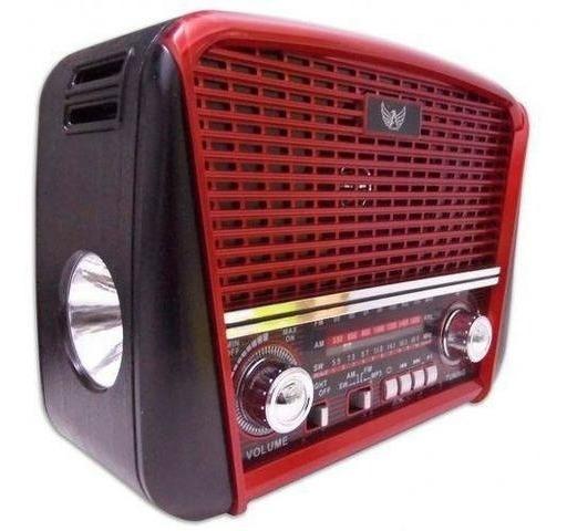 Radio Retro Altomex J107 Tipo Antigo Fm Am Usb Bivolt Pilha
