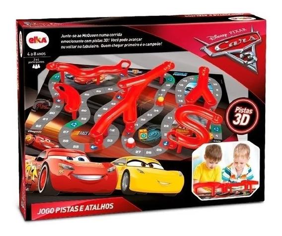 Jogo Pista E Atalhos Carros 3 Disney Pixar - Elka