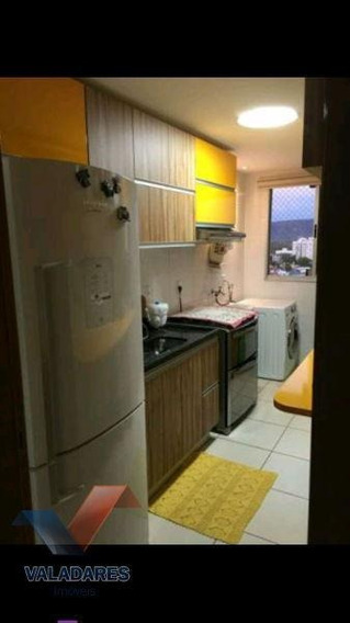 Apartamento 2 Quartos Para Venda Em Palmas, Plano Diretor Sul, 2 Dormitórios, 1 Suíte, 2 Banheiros, 1 Vaga - 54120