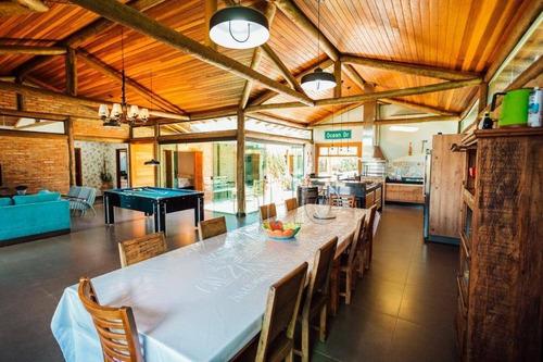 Chácara Com 3 Dormitórios À Venda, 1800 M² Por R$ 1.800.000,00 - Condomínio Ondas Grandes Santa Maria  - Anhembi/sp - Ch0105