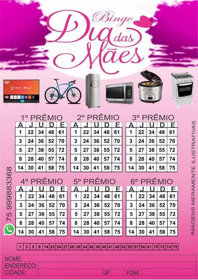 Cartela De Bingo 500 Cartelas Em Pdf Frete Grátis