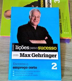 Max Gehringer - Lições Para O Sucesso - R$ 2,50
