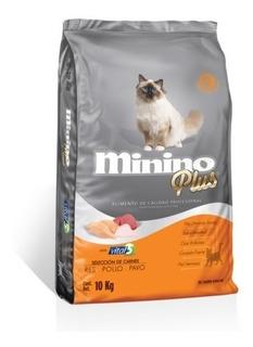 Alimento Minino Plus Para Gato 10 Kg