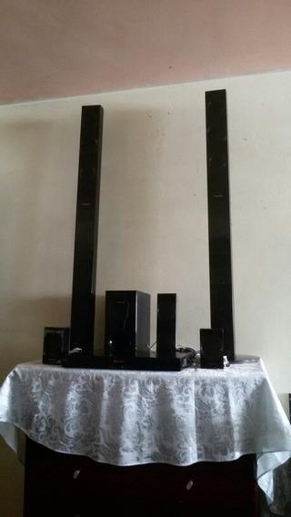 Home Teather Panasonic 5.1 Sonido 1000 Watios Tipo Cine