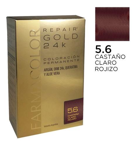 Farmacolor R Gold Cast.clar Roj N°5.6x 1estuche. De Fábrica.
