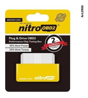 Chip Potenciación Nitro Obd2 Nafta Tuning Aumento Hp Motor