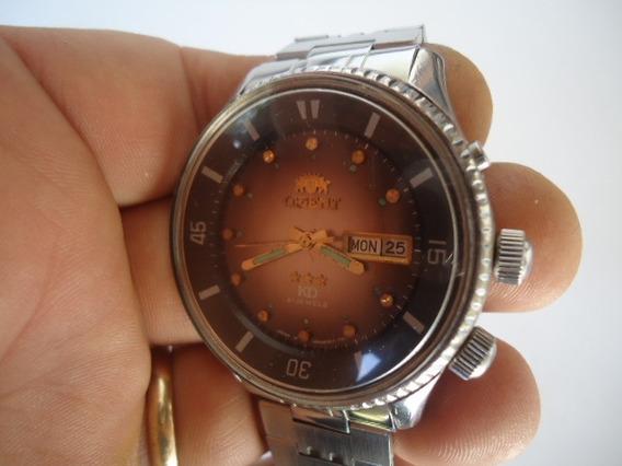 Relógio Orient Automático Kd Perfeito E Raro King Diver