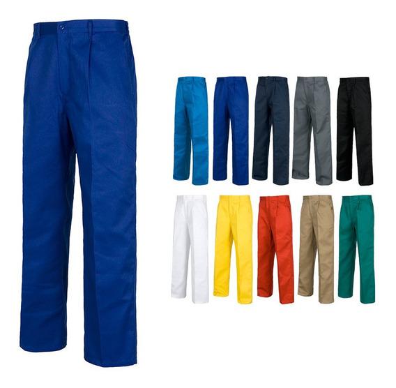 Pantalon De Cargo Gabardina T28 A La T-44 12 Color Verde