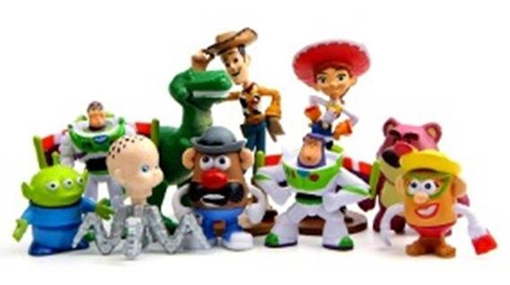 Toy Story Woody Buzz Lightyear Jessie Kit 10 Miniaturas