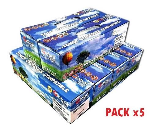 Toner Alternativo Q2612a 12a 1010 1018 1020 1022 (pack X5)