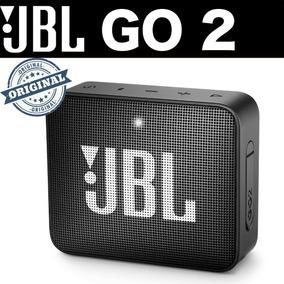 Caixa De Som Bluethooth Jbl Go 2 Preta Original Um Ano