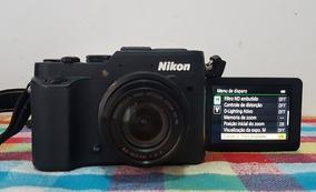 Câmera Semiprofissional Nikon P7800