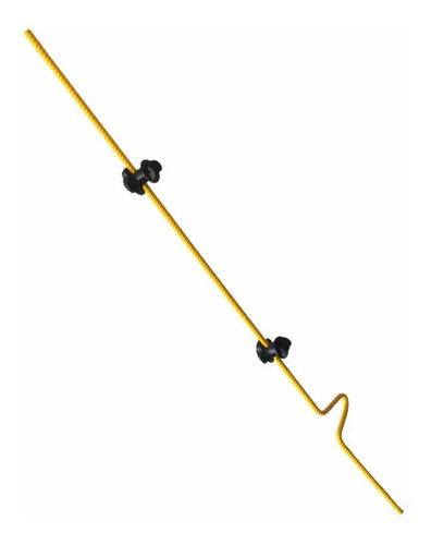 Imagen 1 de 6 de Varilla Móvil Cerca Eléctrica 1.2m Acero 12mm 2aisladores Pv