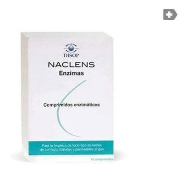 Imagen 1 de 2 de Liquido Naclens Enzimas Comprimidos Para Lentes De Contacto