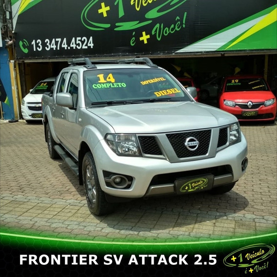 Nissan Frontier Sv Attack 2.5 2014 Prata