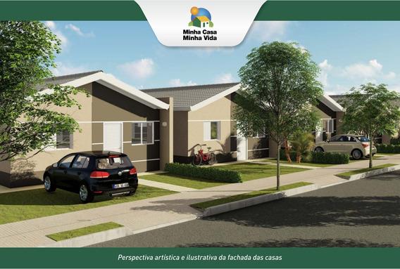 Super Lançamento De Casas Minha Casa Minha Vida Em Cravinhos No Jardim Aliança, 2 Dormitorios E Amplo Quintal Em 160 M2 De Area Total - Ca01433 - 68325521