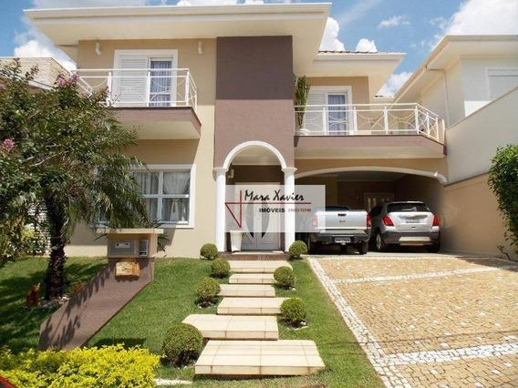 Sobrado Com 4 Dormitórios À Venda, 278 M² Por R$ 1.380.000 - Condomínio Recanto Dos Paturis - Vinhedo/sp - So0567
