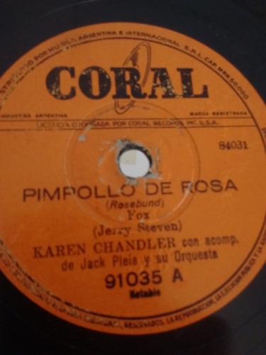 Karen Chandler Jack Pleis Disco Pasta Coral 91035 C24