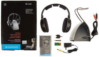 Auriculares Inalambricos Sennheiser Rs120 Tv Home Vincha