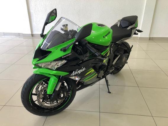 Kawasaki Zx-6r Ano 2020 Cor Verde