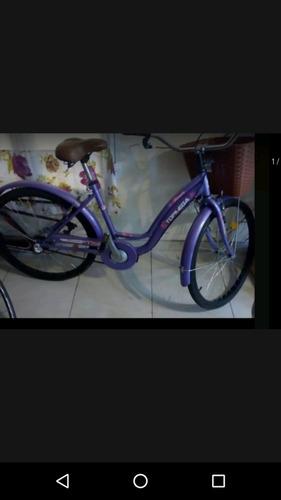 Bicicleta De Dama Top Mega Ros. 26 Con 3 Velocidades,