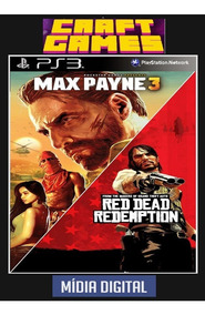 Red Dead Redemption+ Max Payne 3 Comp Ps3 Psn Digital Game