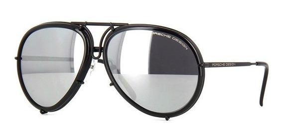 Lentes Gafas Sol Porsche Design P8613 A Espejados 64mm Suns