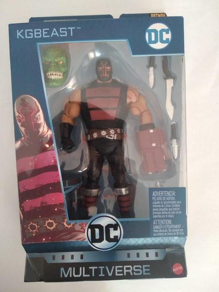 Kgbeast Baf Killer Croc Dc Multiverse Batman 80 Years