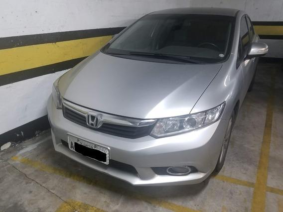 Honda Civic Lxr 14/14 Único Dono.
