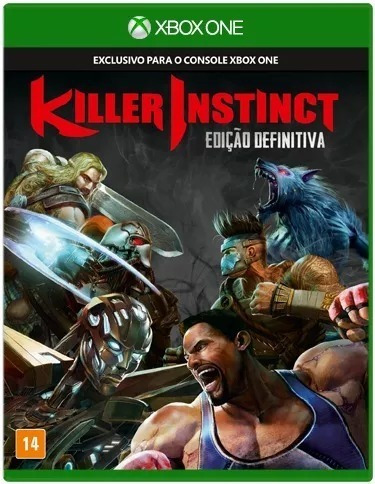 Killer Instinct Ed. Definitiva Xbox One Nacional Lacrado Rj