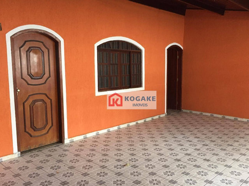 Casa À Venda, 150 M² Por R$ 600.000,00 - Jardim Motorama - São José Dos Campos/sp - Ca2901