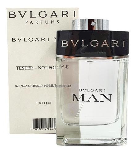 Imagen 1 de 1 de Bvlgari Man Edt 100ml (tester) / Prestige Parfums