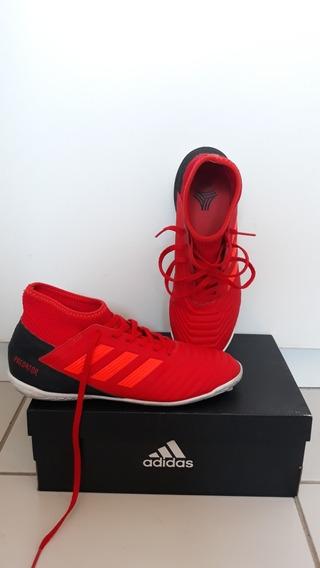 Chuteira adidas Predator 19.3 In J Cano Alto Futsal