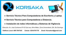 Servicio Técnico Computadoras, Laptop, Redes. Tienda Física!
