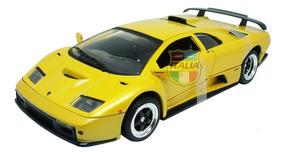 Lamborghini Diablo Gt 1:18 Motormax Amarelo