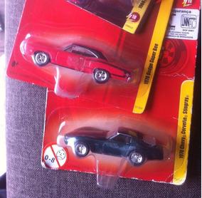 1970 Dodge Super Bee E 1976 Corvette Johnny Lightning Anos70