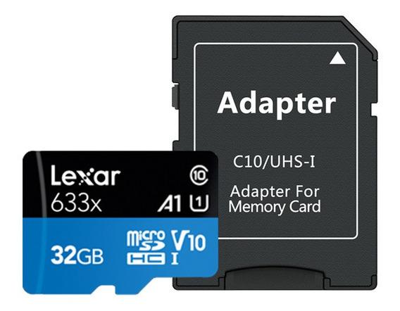 Lexar A1 32g Tf Cartão De Memória Microsd Alta Velocidade