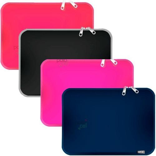 Imagen 1 de 4 de Funda Notebook Neoprene Premium Cierre 14 15,6 17 Pulgadas