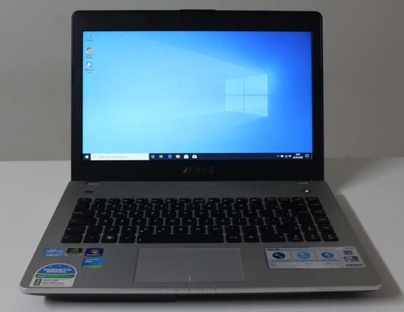Notebook Asus N46vm I7 2.3ghz 8gb Ssd-240gb + 2gb Dedi.
