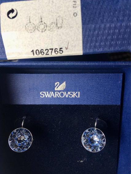 Swarovski Original Aros Cristal Celeste