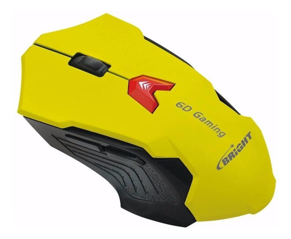 Mouse Gamer Usb 800/1200/1600/2400 Dpi Bright 0375-n