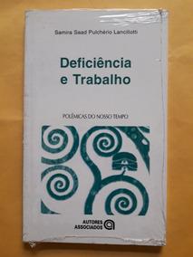 Livro Deficiência E Trabalho - Versão Pocket