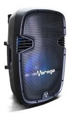 Bocina Karaoke Vorago Ksp-500 Negro Bluetooth Recargable Tri