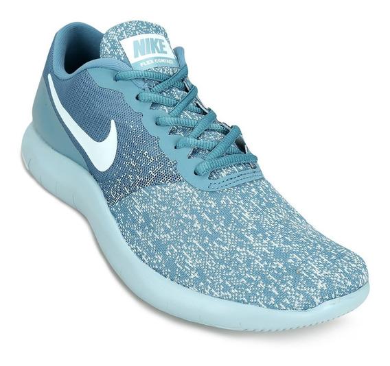 Zapatillas Nike Flex Contact Mujer Celeste