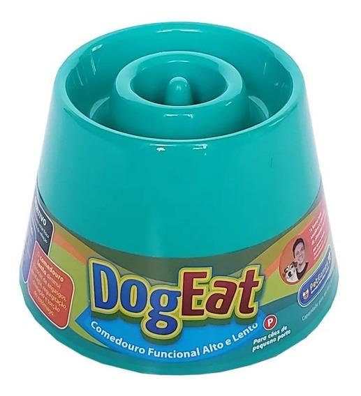 Comedouro Lento Alto Caes Pequeno Porte Dog Eat P Pet Games