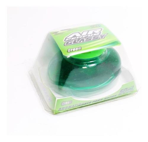 Imagen 1 de 5 de Air Perfum Glassy Aromatizante Liquido Manzana Green 50ml