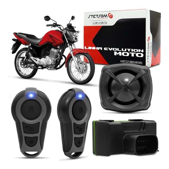 Alarme Moto Stetsom Controle Presença Com Partida Triplo I
